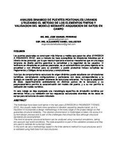 MG. ING. JOSE MANUEL PEREIRAS ESP. ING. ALEJANDRO DANIEL BALLESTER