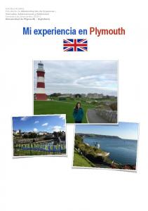 Mi experiencia en Plymouth