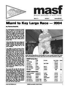 Miami to Key Largo Race 2004