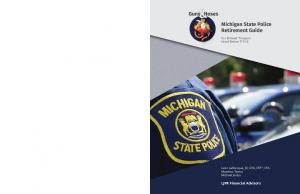 Michigan State Police Retirement Guide