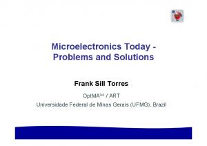 Microelectronics Today - Problems and Solutions