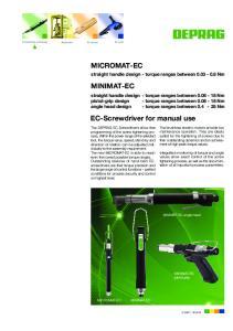 MICROMAT-EC MINIMAT-EC