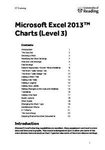 Microsoft Excel 2013 Charts (Level 3)