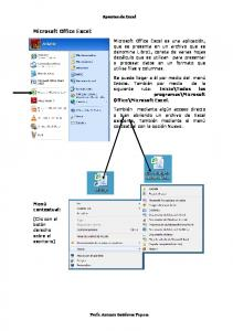 Microsoft Office Excel: