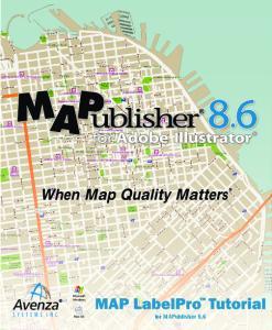 Microsoft Windows. Mac OS. for MAPublisher 8.6