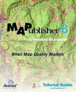 Microsoft Windows. Mac OS. Tutorial Guide for MAPublisher 8.4
