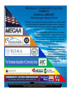 Mid-East Community Action Agency Annual report Program Year 2014