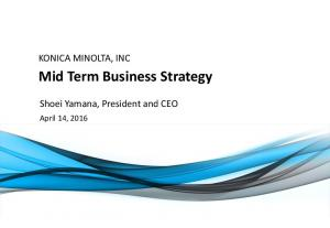 Mid Term Business Strategy