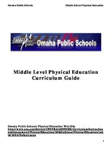 Middle. Curriculum. Web Site