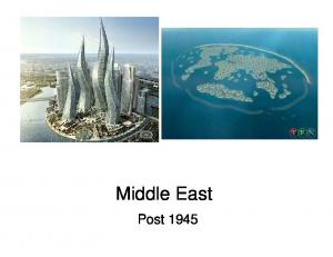 Middle East. Post 1945