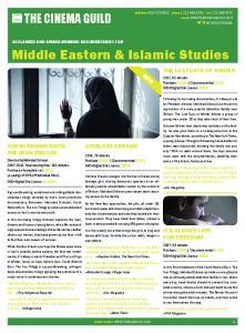 Middle Eastern & Islamic Studies