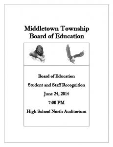 Middletown Township Board of Education