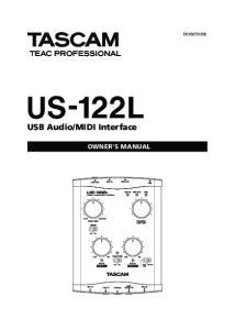MIDI Interface OWNER'S MANUAL
