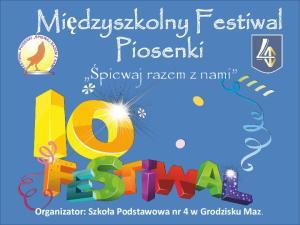 Międzyszkolny Festiwal Piosenki