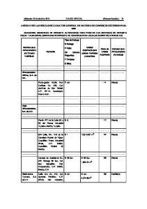 Miércoles 20 de abril de 2011 DIARIO OFICIAL (Primera Sección) 21 ANEXO 13 DE LAS REGLAS DE CARACTER GENERAL EN MATERIA DE COMERCIO EXTERIOR PARA 2010