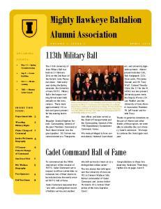 Mighty Hawkeye Battalion Alumni Association