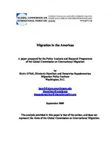 Migration in the Americas