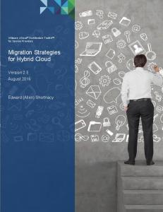 Migration Strategies for Hybrid Cloud