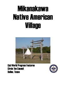 Mikanakawa Native American Village