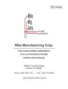 Mike Manufacturing Corp