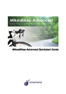 MikesBikes-Advanced Quickstart Guide