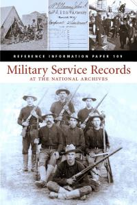 Military Service Records. at the national archives