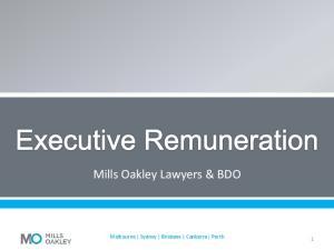 Mills Oakley Lawyers & BDO. Melbourne Sydney Brisbane Canberra Perth
