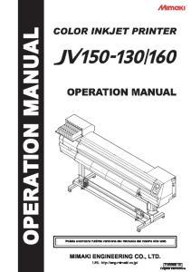 MIMAKI ENGINEERING CO., LTD. URL:  D Original instructions