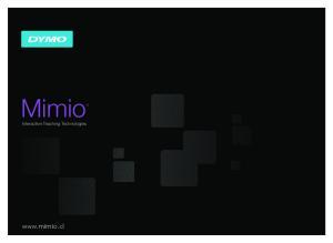 Mimio. Interactive Teaching Technologies
