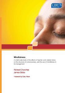 Mindfulness. Richard Churches James Gibbs LITERATURE REVIEW