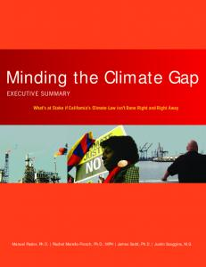 Minding the Climate Gap
