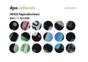 MINDS Regionalkonferenz