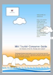 Mini Tourist-Consumer Guide WELCOME TO CROATIA!
