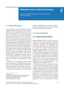 Minimally Invasive Conjunctival Surgery