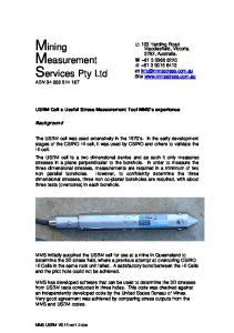 Mining Measurement Services Pty Ltd