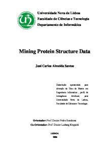 Mining Protein Structure Data