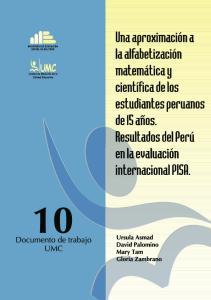 Ministerio de Educación del Perú, 2004 Calle Van de Velde N o 160, Lima 41-Perú Teléfono: ISBN. Depósito legal N o