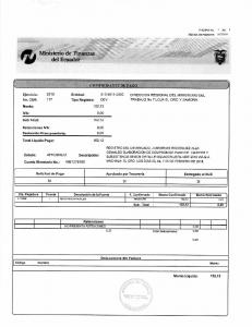 Ministerio de Finanzas del Ecuador