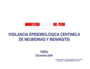 MINISTERIO DE SALUD DEL PERU