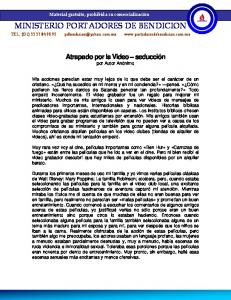 MINISTERIO PORTADORES DE BENDICION