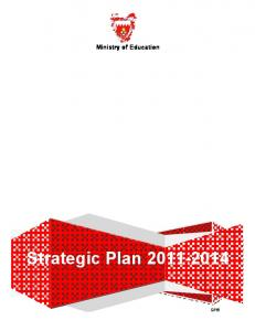 Ministry of Education Strategic Plan