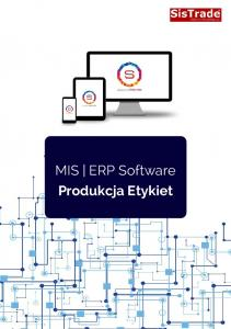 MIS ERP Software Produkcja Etykiet