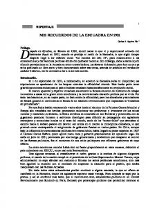 MIS RECUERDOS DE LA ESCUADRA EN 1931