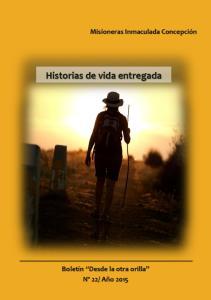 Misioneras Inmaculada Concepción. Historias de vida entregada
