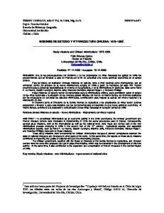 MISIONES DE ESTUDIO Y VITIVINICULTURA CHILENA: *