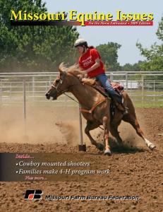 Missouri Equine Issues