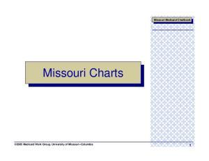 Missouri Medicaid Chartbook. Missouri Charts Medicaid Work Group, University of Missouri--Columbia