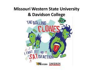 Missouri Western State University & Davidson College