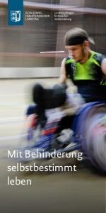 Mit Behinderung selbstbestimmt leben