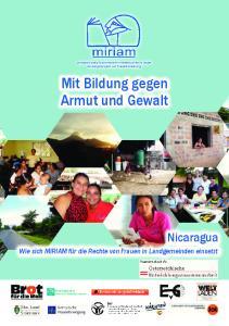 Mit Bildung gegen Armut und Gewalt